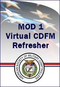 CDFM Module 1 Online Refresher Course-11-12 Mar 2021 0800 ET
