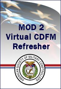 CDFM Module 2 Online Refresher Course-15-16 Mar 2021 0800 ET