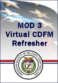 CDFM Module 3 Online Refresher Course-18-19 Mar 2021 0800 ET
