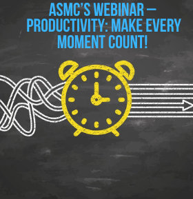 Oct 13th 1200 ET: Productivity - Make Every Moment Count