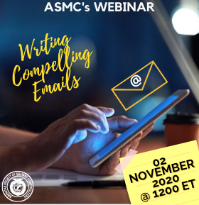 Nov 2nd 1200 ET: Writing Compelling Emails